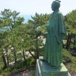 桂浜公園にある坂本龍馬像に会いに行ってみた