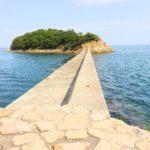 鞆の浦の歩いて行ける無人島・玉津島に行ってみた