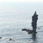 隠岐の島のローソク島を展望台から見に行ってみた