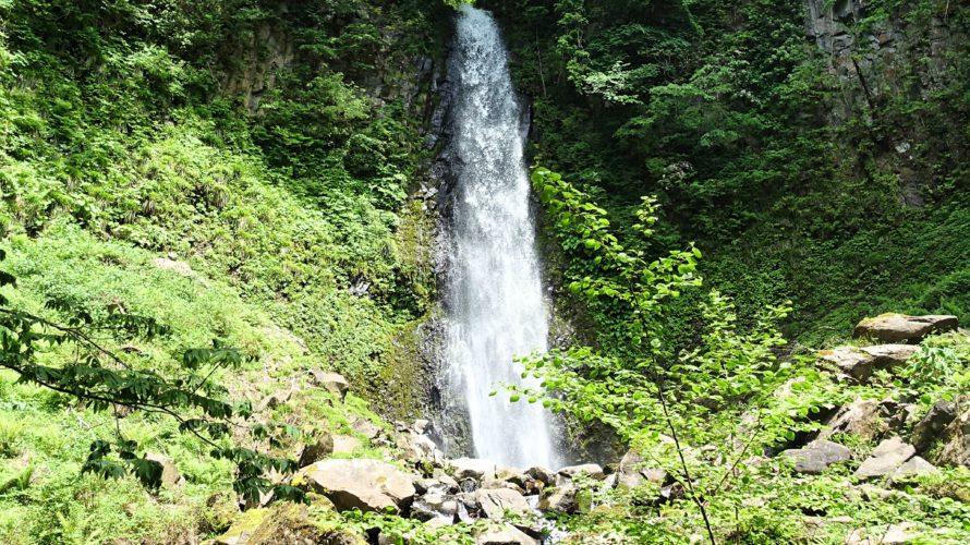 鳥取県最大の滝『雨滝』と『布引滝』を見に行ってきました