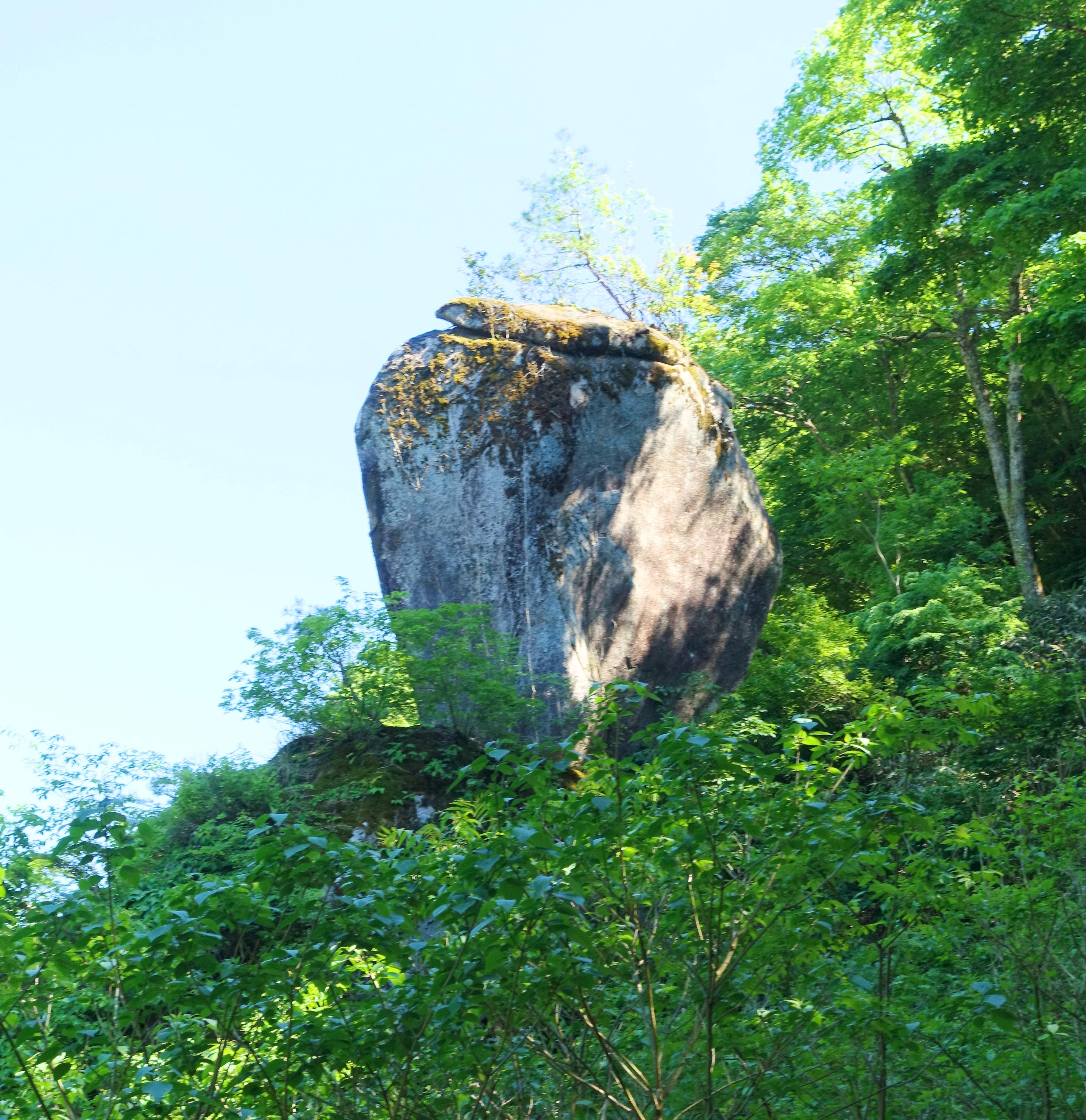 水瓶岩をはじめ様々な奇岩が見られる鬼の舌震に行ってみた | ぷくぷく ...