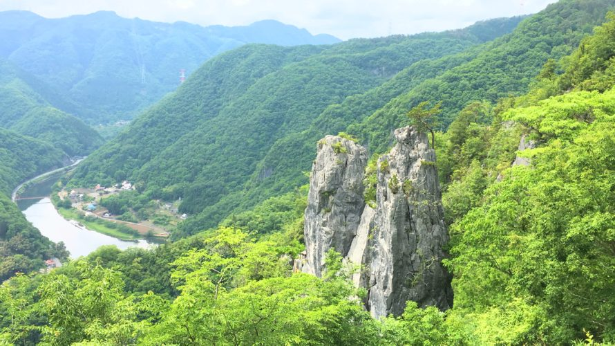 岡山県高梁市にある巨岩・夫婦岩を見に行ってみた