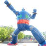 新長田駅前にいる高さ15.3mの鉄人28号に会いに行ってみた